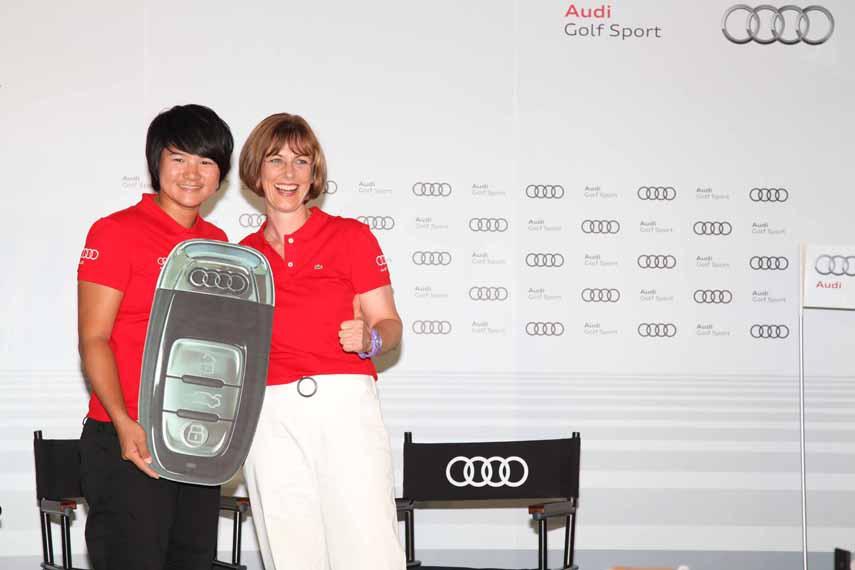 01_世界球后曾雅妮與世界級豪華汽車品牌Audi的結合,除了將Audi四環品牌的全球運動行銷觸角延伸至頂尖職業高爾夫球領域,更進一步強化Audi品牌的核心價值.jpg