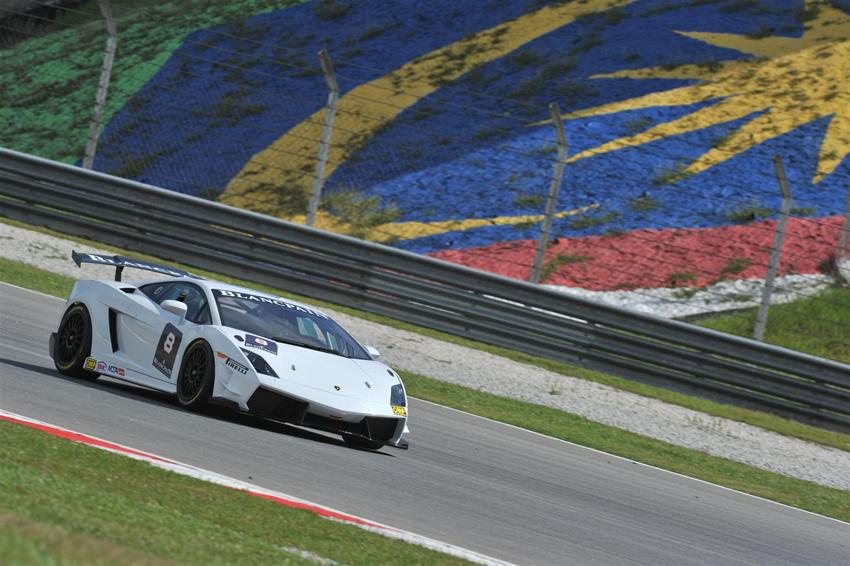 Super Trofeo Race Car at Sepang International Circuit