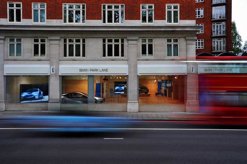 [新聞照片一]BMW i Store坐落於倫敦Park Lane