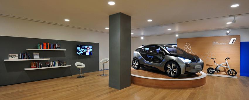 [新聞照片二]BMW i Store 裡展示的BMW i3 Concept