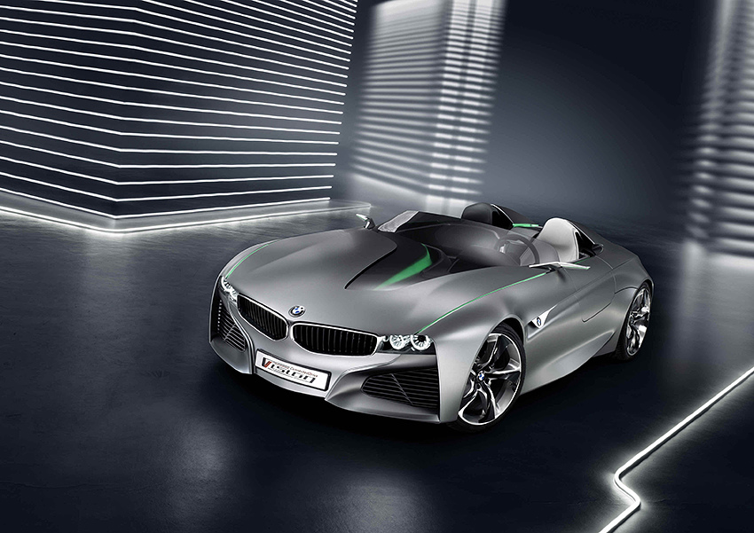 【新聞照片三】BMW Vision ConnectedDrive概念車