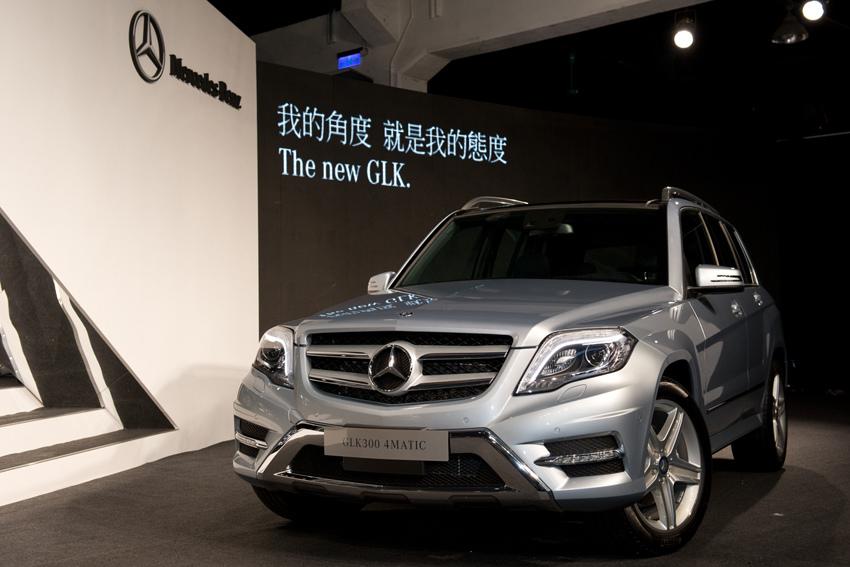 Mercedes-Benz The new GLK我的角度  就是我的態度