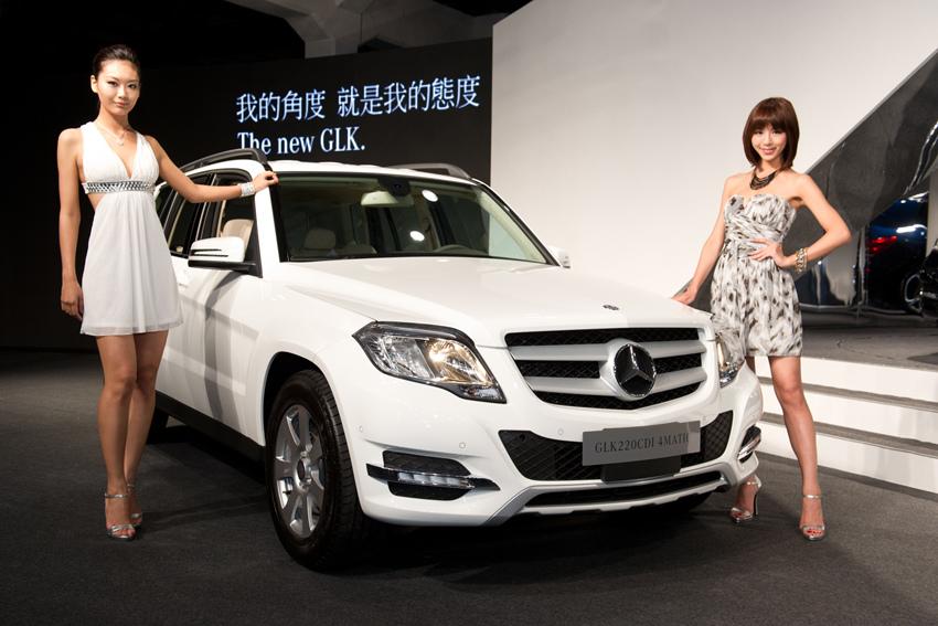 Mercedes-Benz The new GLK 220 CDI 4MATIC BlueEFFICIENCY標準版建議售價230萬起