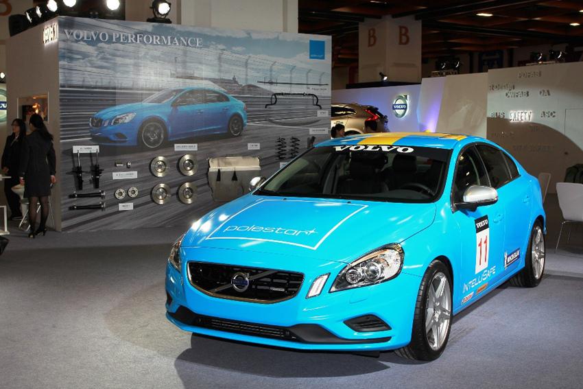 04_改裝展示專區展示 「S60 Polestar」 勁裝概念跑車,全車散發強烈性能跑格