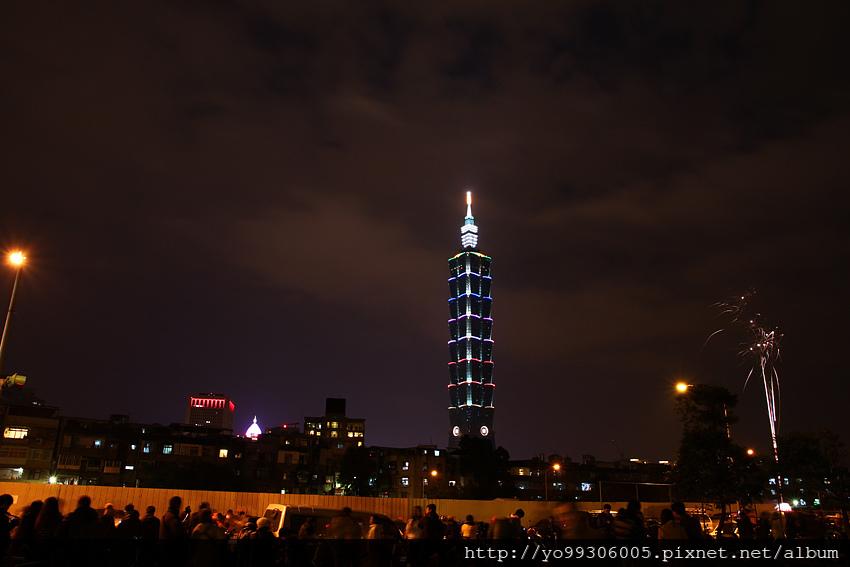 台北101跨年煙火 (2)