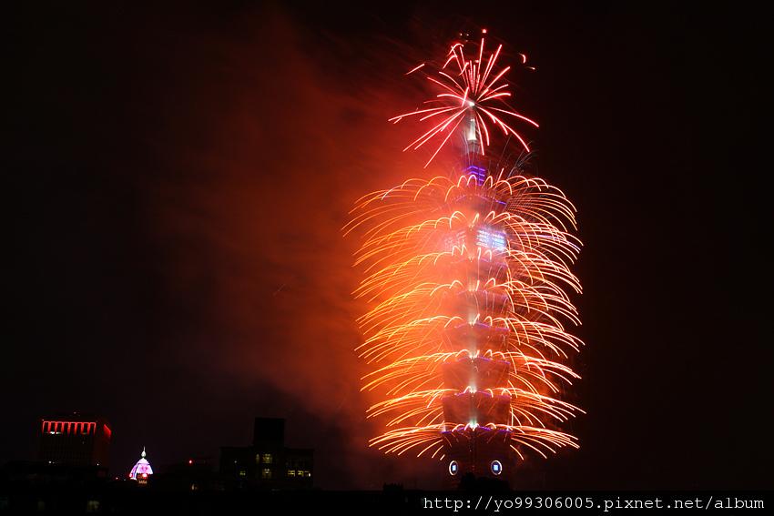 台北101跨年煙火 (15)
