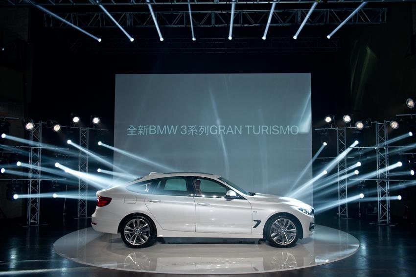 【新聞照片一】全新BMW 3系列GRAN TURISMO 驚艷上市