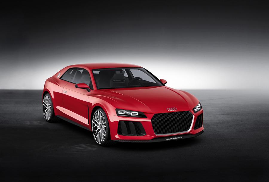 圖2.搭載Audi最新雷射頭燈技術,Audi Sport quattro laserlight concept概念車首度於本次CES亮相。.jpg