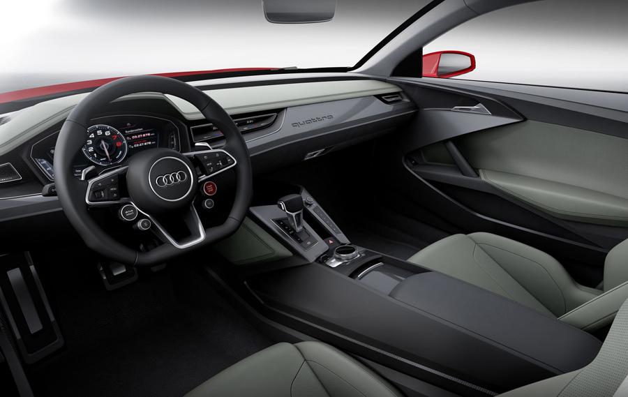 圖3.Audi Sport quattro laserlight concept概念車採用的高解析度TFT液晶觸控螢幕,可提供駕駛者高解析度的3D影像訊息。.jpg
