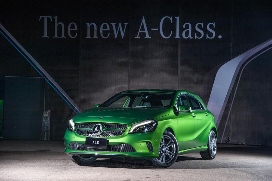 全新A-Class推出極具特色的Elbait Green車色,掠奪街上所有目光.jpg