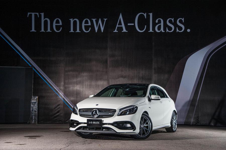 身為鋼砲界的王牌,Mercedes-AMG A 45 4MATIC樹立了掀背車的性能指標後,仍持續探索巔峰極限的可能.jpg