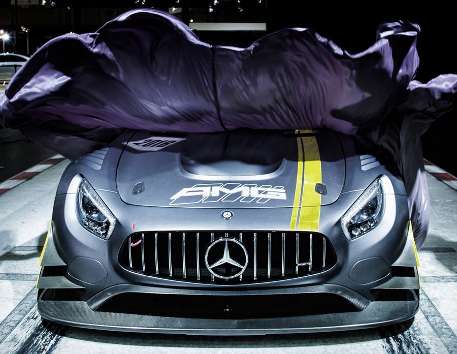 台灣賓士展出今年甫於日內瓦車展發表的Mercedes-AMG GT3 純種廠賽.jpg