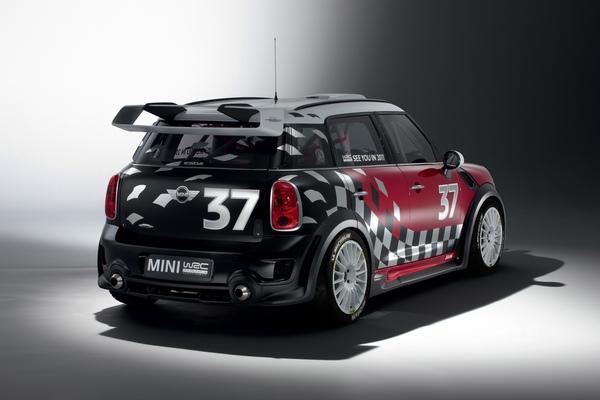 【新聞照片三】MINI Countryman WRC巴黎車展震撼豋場.jpg