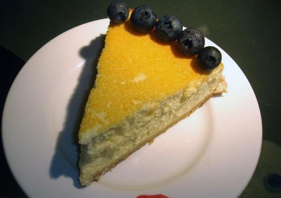 柳橙輕乳酪蛋糕