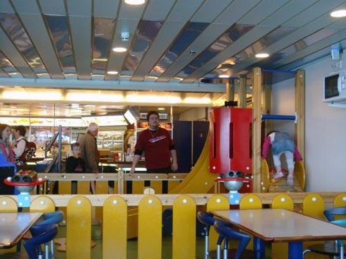 船內的餐廳
