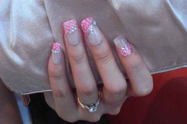 粉紅豹紋真手秀