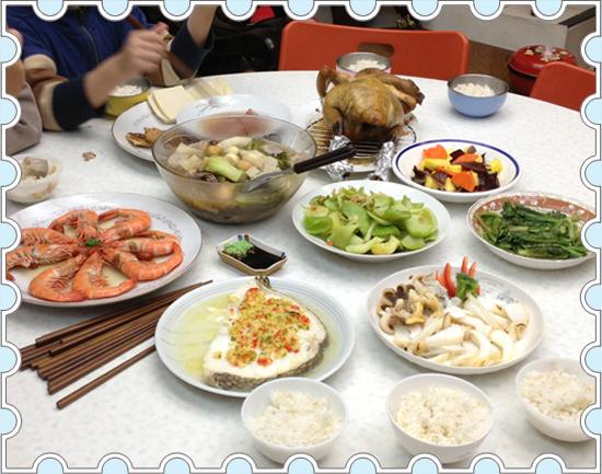 2013年夜飯