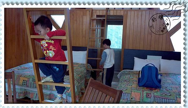 風箏小木屋內部