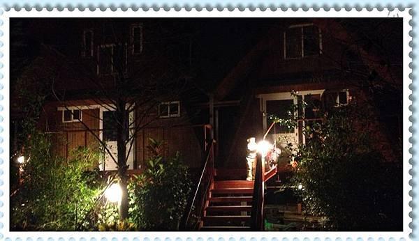 風箏小木屋入口夜拍