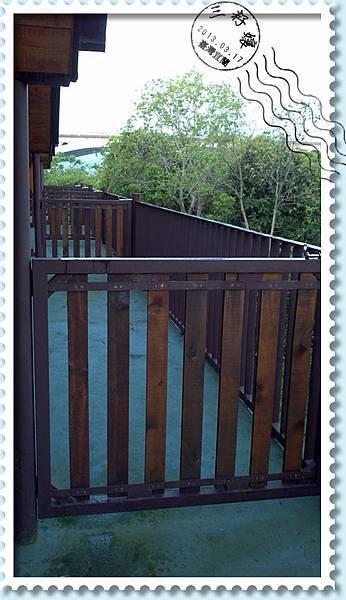 風箏小木屋後陽台