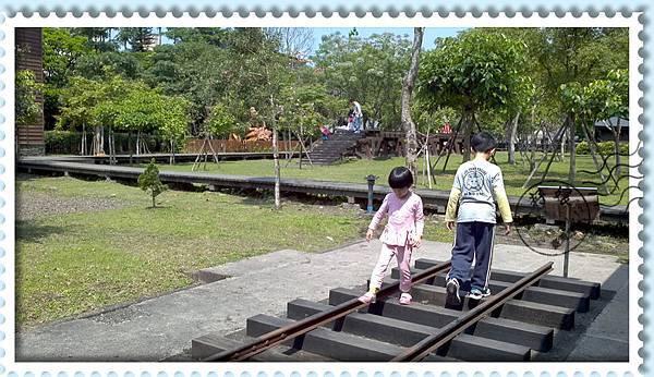 宜蘭羅東林業文化園區-鐵軌