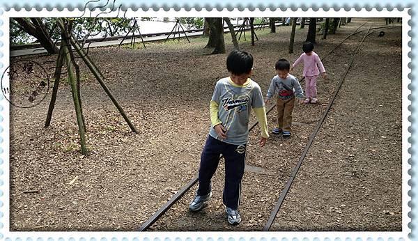 宜蘭羅東林業文化園區-走鐵軌