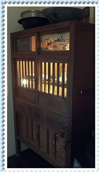 宜蘭羅東林業文化園區-古早味櫥櫃