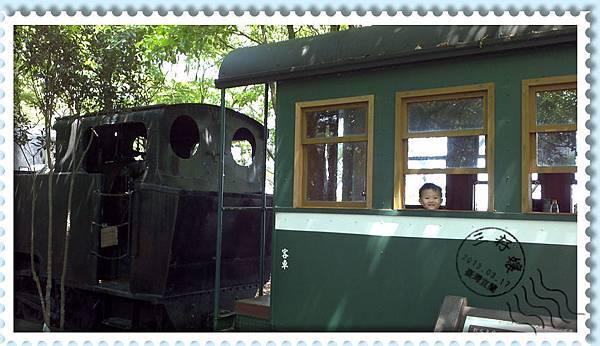 宜蘭羅東林業文化園區-火車車廂