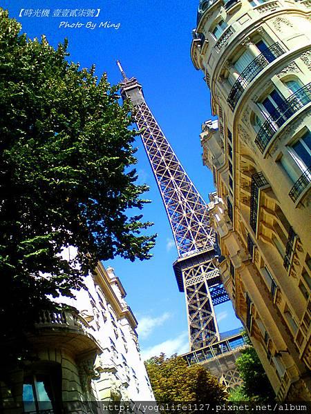 巴黎-艾菲爾鐵塔02