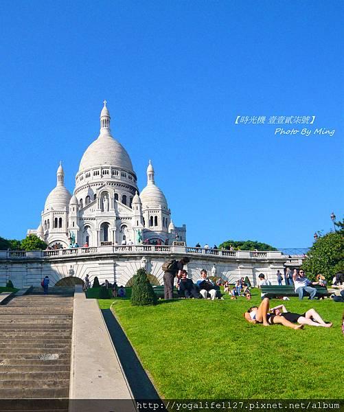 巴黎-特寫白教堂10