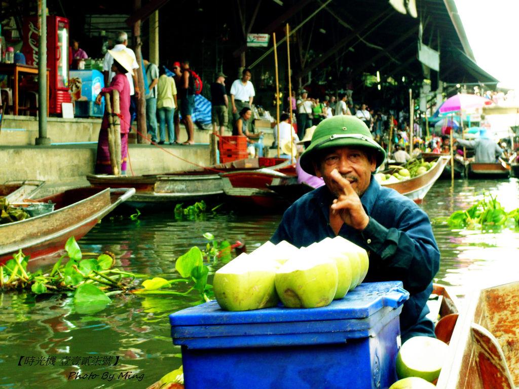 泰國水上市集10