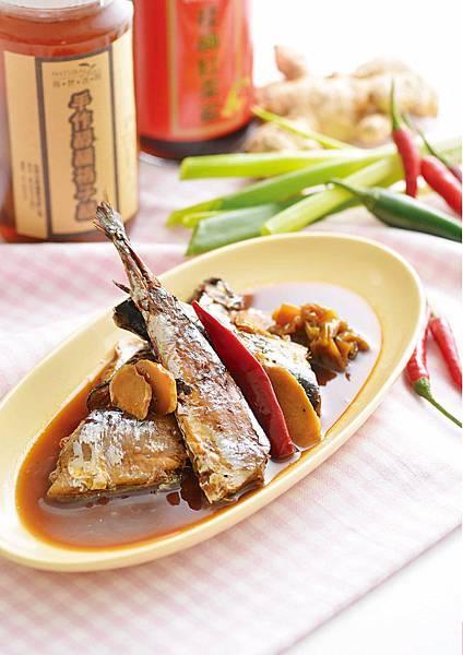 蔥燒佃煮秋刀魚.jpg