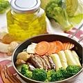 蒜油綜合蔬菜