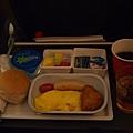 20121207-001. 華航飛機早餐