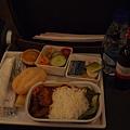 20121206-009. 華航飛機晚餐