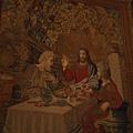 20121207-027. 栩栩如生的掛毯,走到哪耶穌都看著你