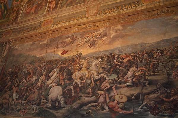 20121207-029. 君士坦丁受洗(拉斐爾作畫的君士坦丁室)
