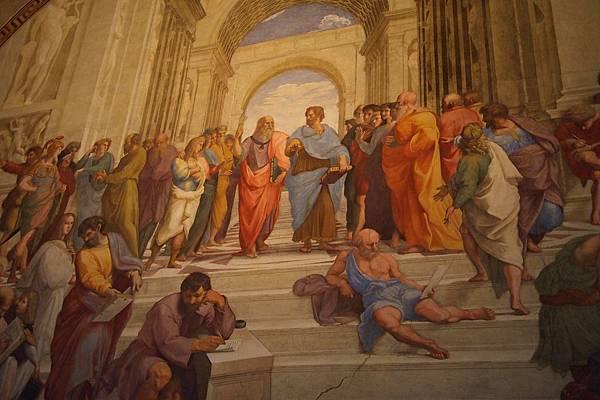 20121207-032. 雅典學院,拉斐爾最廣為世人所知的一幅畫
