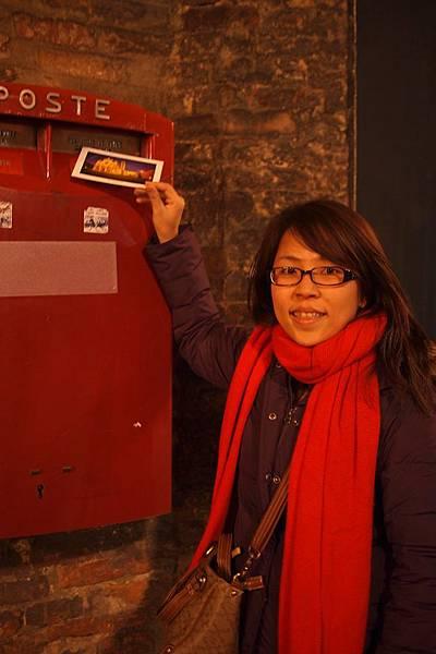 20121211-053. 快速寫明信片寄出