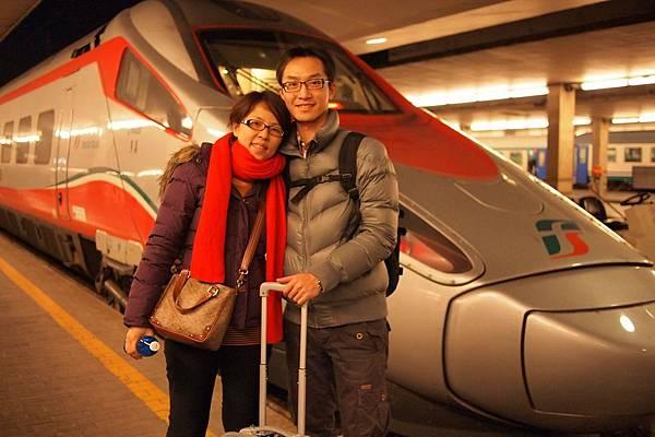 20121212-059. 搭乘歐洲之星前往威尼斯