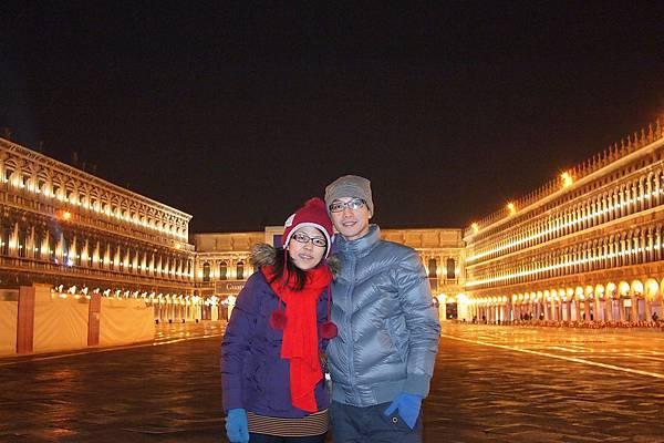 20121212-071. 聖馬可廣場夜景
