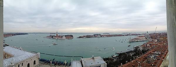 修佛尼河岸及San Giogio Maggiore島