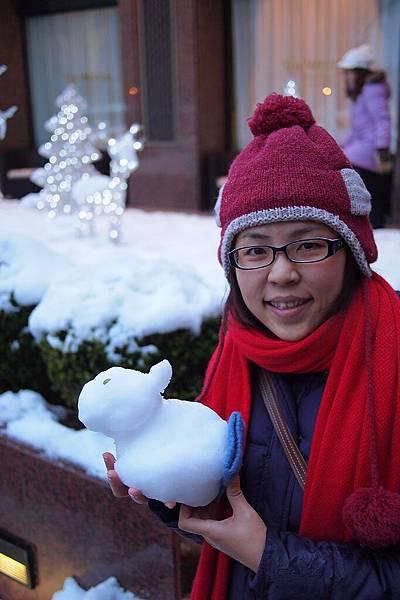20121215-010. 兔子(其實這是雪人,只是大家看的方式不一樣)