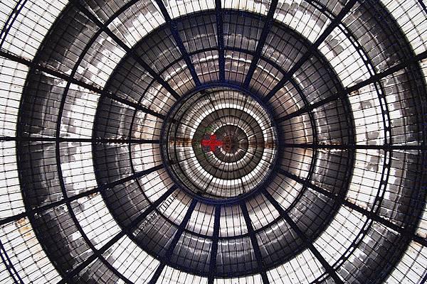 20121215-019. 十九世紀完工的玻璃罩頂