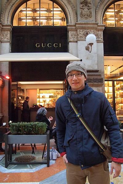 20121215-022. 全世界只有兩家賣GUCCI巧克力,一在東京銀座,另一就是米蘭
