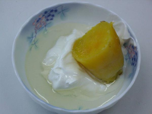 地瓜優格冰淇淋