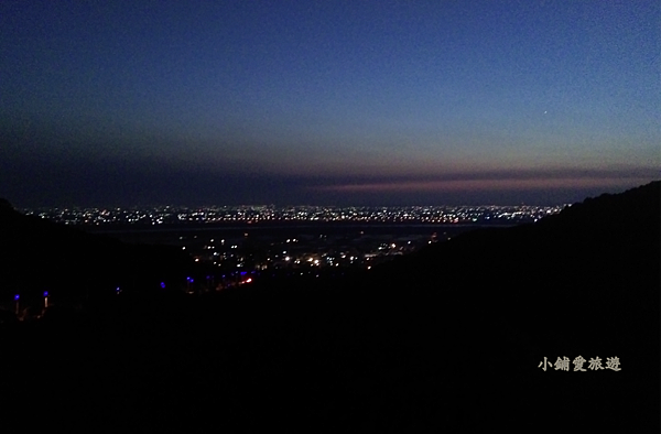 大肚山上夜景 藍色公路 台中
