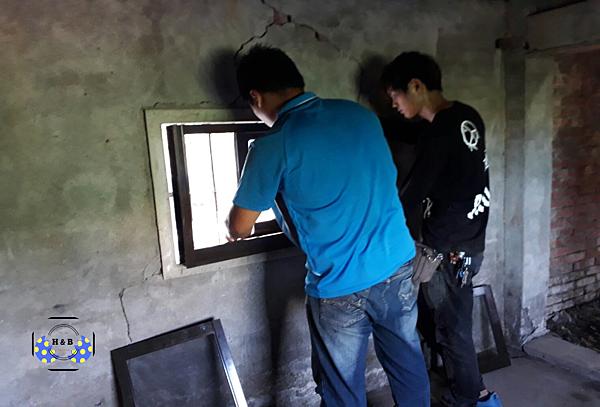 孵化BAR:安裝窗戶(施工)
