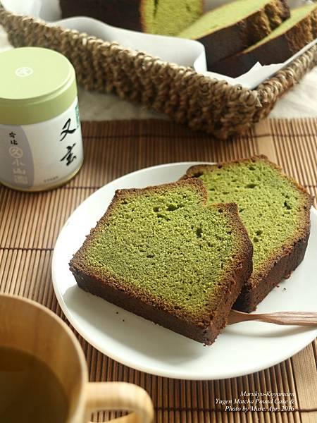 丸久小山園抹茶磅蛋糕。圖/Muse。請勿盜圖。