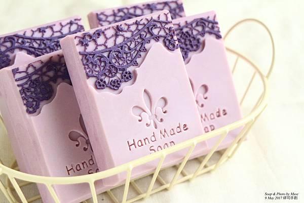 紫羅蘭蕾絲香氛皂